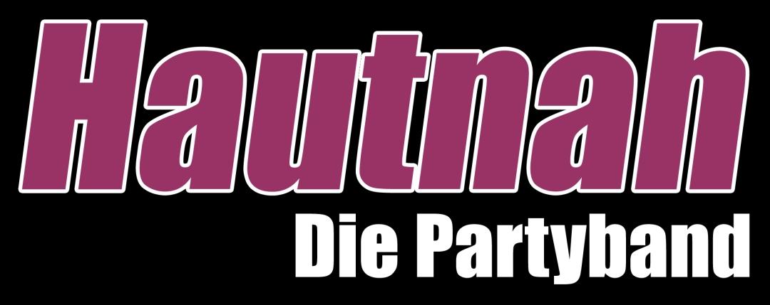 Logo-Hautnah-Die Partyband-Farbe-schwarz